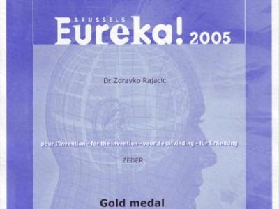 Eureka Brusseles 2005